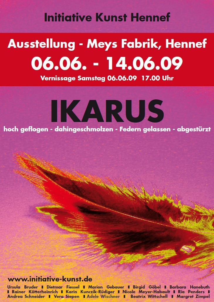 Plakat/Flyer Themenausstellung 2009